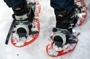 –Det är väldigt hett med snöskor nu, säger Jenny Engström, pressansvarig vid Svenska turistföreningen (STF).