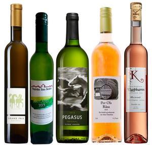 Fem goda och välgjorda viner sprungna ur den skånska myllan.