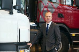 Henrik Henriksson tillträdde som vd för Scania den 1 januari 2016.