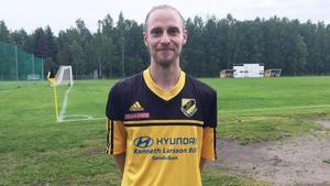 Karl Norman gjorde två av Järbos mål mot Hagaström på fredagskvällen.