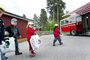 Den rullande förskolan kommer från hösten att höra till Sofiedalsgården i stället för Tallåsgården.