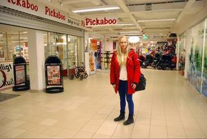 Under januari månad gjorde Jenny Johansson inte många besök i ortens shoppinggalleria då hon hade en köpfri månad.