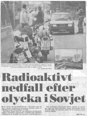 Arbetarbladet, 29 april 1986.
