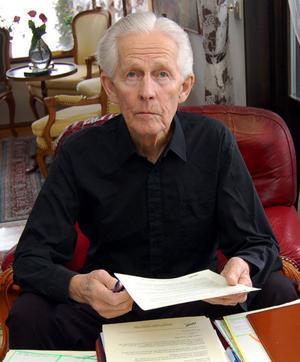 Trots sin höga ålder var Bo-Åke Ericson mycket engagerad som ledamot av Gagnefs kommunfullmäktige.