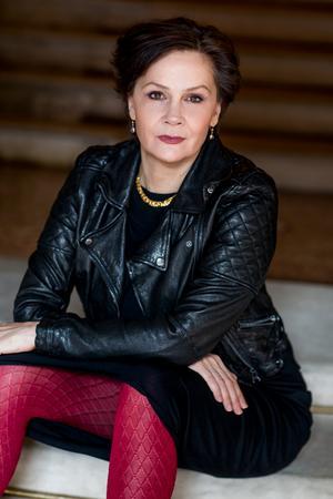 Anna Larsson, altsolist, vid Svenska kammarorkesterns första höstkonsert.