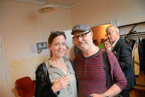 Långväga gäster. Helene Brandin och Thomas Eriksson från Uppsala var förväntansfulla inför kvällens premiär.