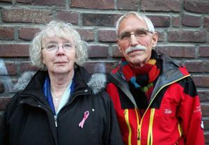 Margareta Winge och Bengt Göran Aronsson har skrivit en bok om terapin som pågått i tiotalet år.