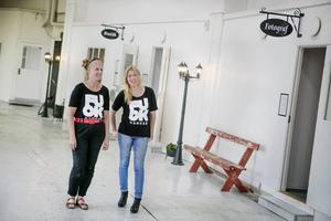I maj i fjol öppnade Johanna Syrén och Anna Alverhag i föreningen Lokomotiv ett fotogalleri i det äldsta lokstallet på SJ-området.