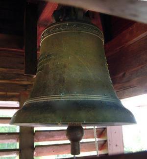 Sällan har man som just  nu haft en möjlighet att fotografera klockan i Hunge kapells klocktorn.