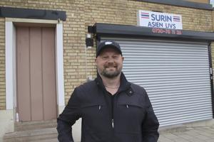 Henrik Granlund, 50 år, lastbilsförsäljare, Fagersta: – Grillat, jag gillar det främst för att man gör det utomhus.