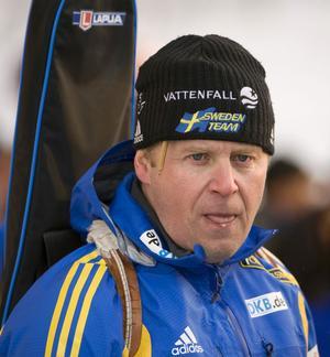 Staffan Eklund förklarar varför de har spolat Jörgen Brink inför OS-uttagningen.