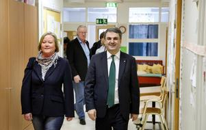 Ulrika Falk, Olle Jansson och Ibrahim Baylan.