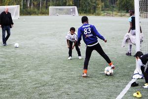Fotboll var en av ingredienserna under Gärdesdagen.