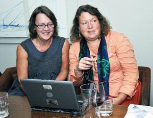 Centern och Folkpartiet hade gemensam valvaka på Twins i Åre. Partiledarna Lena Kagart, (FP) och Eva Hellstrand (C), följde spänt resultaten. Folkpartiet gjorde dock ett bra val och har nu tre mandat i Åre istället för två.