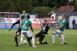 Calle Svensson växte ut till en av lagets bästa spelare med sin uppspelsfot och krigarinställning.