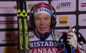Jonna Sundling, som tävlar för Umeå men bor i Östersund, vann SM-guld.