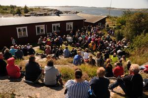 Såhär såg det ut när internationella fyrdagen firades 2017. Foto: Magnus Hörnell