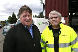 Torbjörn Eriksson Ånge kommun hälsar Lars Karlsson och företaget VR-Track välkommen.