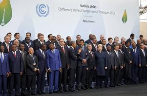 Världens ledare har samlats för klimatmötet i Paris.