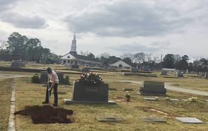 Harper Lee fick sin sista vila i famijegraven nära sina föräldrar och sin syster.