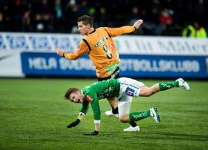 Brages Adam Gradén har spelat 29 av 30 matcher i Superettan 2012. Alla från start.