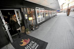 Bilden är tagen utanför Blackstone Steakhouse i Borlänge. Snart kan kedjan öppna i Gävle.