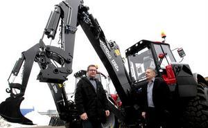 Det blev medvind i mars för Huddig AB. Orderingången motsvarar 100 miljoner kronor, berättar marknadschefen Pär Eriksson och vd Lars Norin.