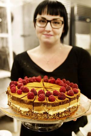 Caroline Kykyris desserter bedömdes av en smakjury.