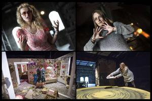 Olek och Alexandra Carr, två konstnärer som deltar i årets upplaga av Avesta Art.