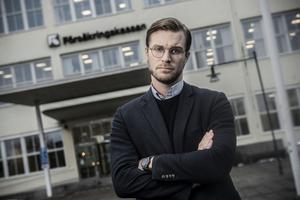 Linus Nordenskär, nationell försäkringssamordnare på Försäkringskassan.