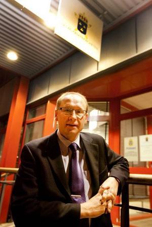 ÖDMJUK. Nytillträdde chefsåklagaren Lennart Gunné är mycket nöjd med sin åklagarkammare. Men han framhåller att statistik är ganska trubbiga instrument när det gäller att jämföra resultaten med andra kammare.