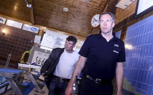 Dan Berg och Jan-Åke Flyman.