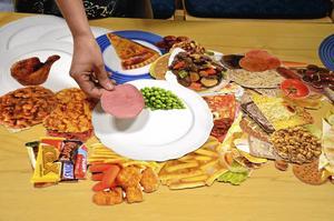 Kostateljé. Med bilder ska diabetiker utbildas i kostkunskap.