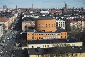 Stockholms stadsbibliotek. Här ställdes ett seminarium in. Foto: Fredrik Sandberg / TT
