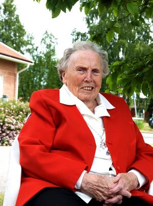 Stina Pettersson, 100 år.