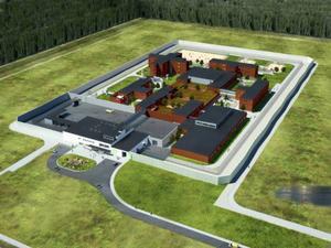 Planerna på fängelset i Östersund blev inget annat än planer och mutor som betalades ut.