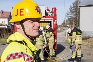 Jan Eriksson, räddningsledare.