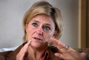 SVT:s vd Eva Hamilton ser positivt på samarbetet med regionala tidningar.