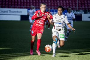 Adelisa Grabus under en match mot Piteå (arkivfoto).
