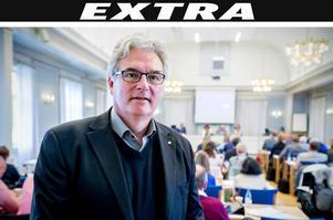 Erik Lövgren (S) tycker att Anders L Johansson har gjort ett bra jobb.