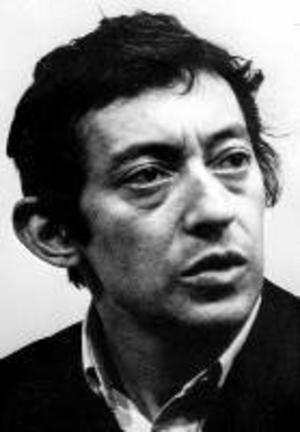 Serge Gainsbourg (1928-1991) kan bäst beskrivas som Frankrikes korsning mellan Sven-Bertil Taube, Cornelis Vreeswijk och Eddie Meduza. Foto: Pressens Bild