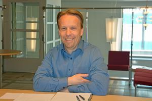 Jens Hjalmarsson, utredningssekreterare på överförmyndarkansliet i Örnsköldsvik.
