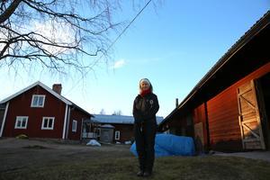 Eva Nordfjell på Ollargården.