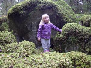 Johanna på  svamputflyckt