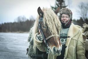 – Det enda missödet under resan var när vi fick punktering på en av vagnarna. Men de fick snabbt hjälp med, säger Seija Andersson från Delsbo.