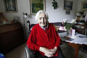 I dag fyller Estrid Thunander 102 år.