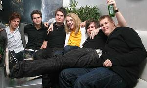 Silk. Simon, Henke, Chili, Wille, Micke och Anders