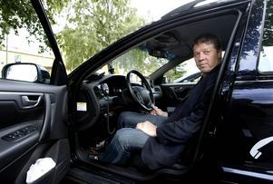 Karl-Arne Dahlkvist, platschef på Taxi Kurir.