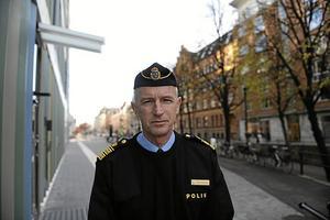 Dan Persson, länspolismästare Örebro län. Foto: Ola Karlsson