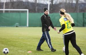 Micke Helmersson, tränare i Ljusdals IF.